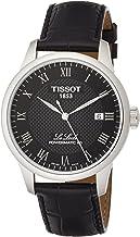 Tissot Men's Le Locle Stainless Steel Dress Watch Black T0064071605300