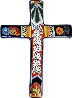 Talavera Traditional Cross #5-8.75