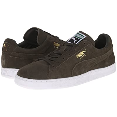 PUMA The Suede Classic+ (Forest Night/White) Men