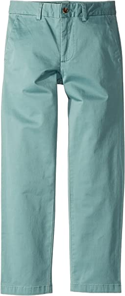 Stretch Cotton Skinny Chino Pants (Big Kids)