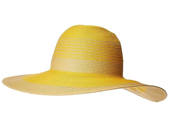 dead8d78 Calvin Klein Color Block Stripe Sun Hat   6pm