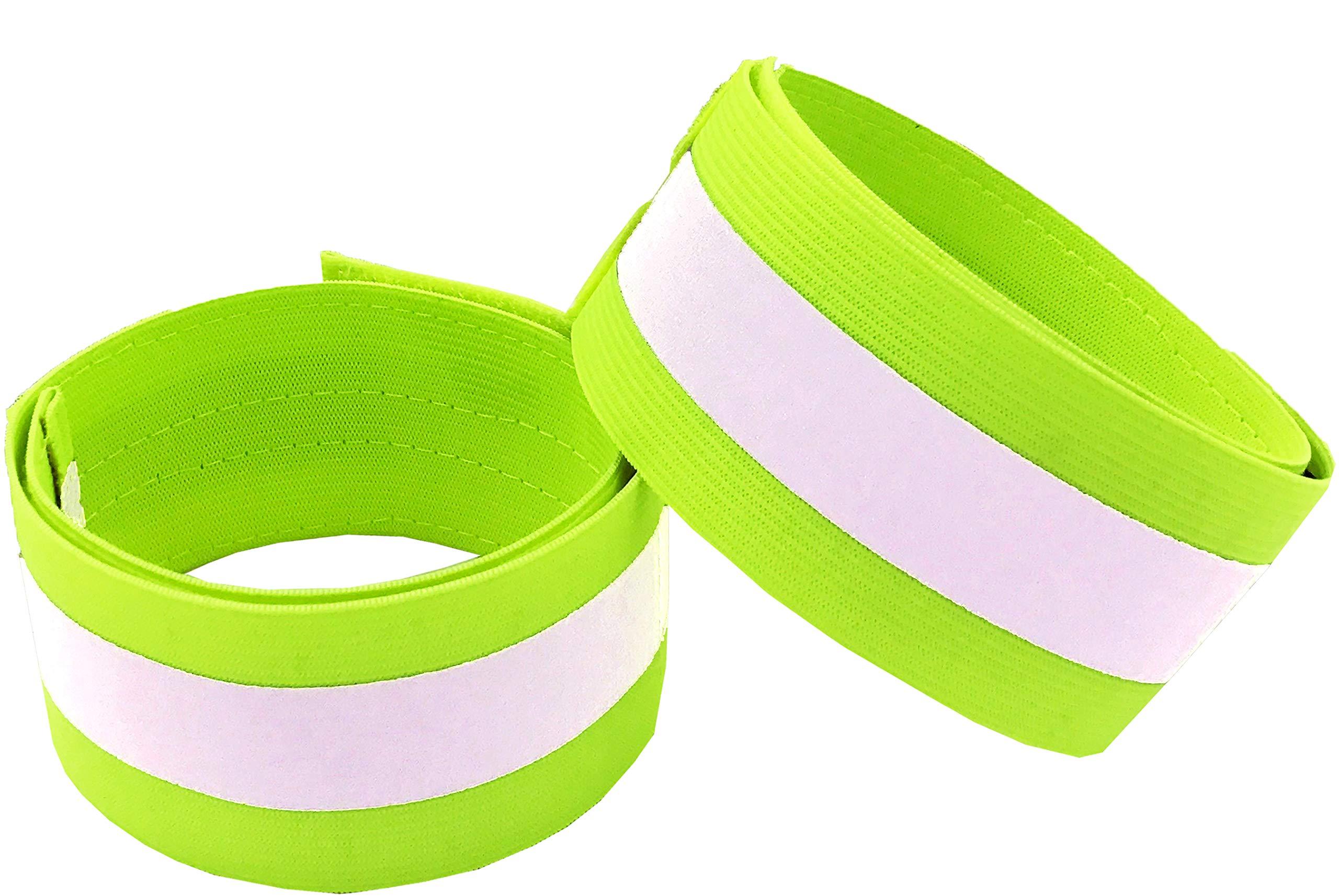 HiVisible Reflective Bands Green