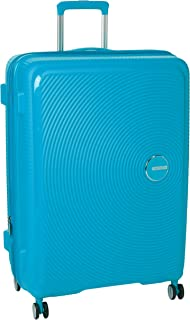 American Tourister Curio Expander Large Luggage - Turquoise