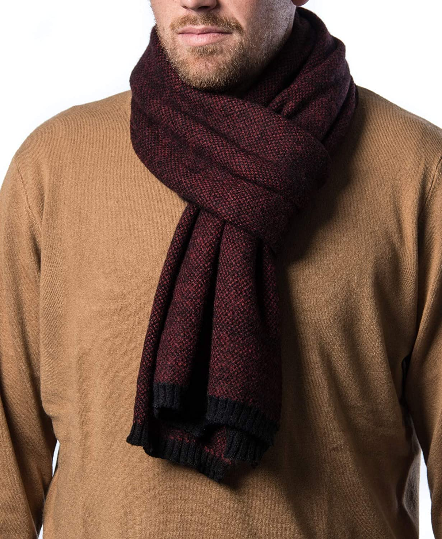 Mio Marino Mens Premium Winter Las Vegas Mall Scarf Scarves Knit Year-end gift Soft