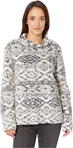Tribal Frosty Tipped Pile Cozy Pullover