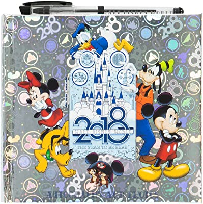 2018 Walt Disney World Autographs and Photographs Book with Pen