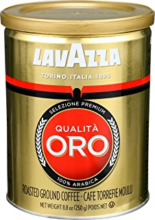 Lavazza Qualita Oro Espresso Ground Coffee, 8.8 oz