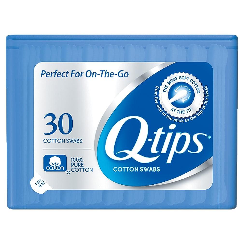 請負業者シード農村Q-tips Swabs Purse Pack 30 Each by Q-Tips