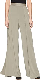 Womens Rylie Rayon Wide Leg Tulip Pants