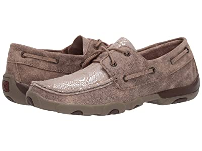 Twisted X WDM0120 (Dusty Tan/Snake Print) Women