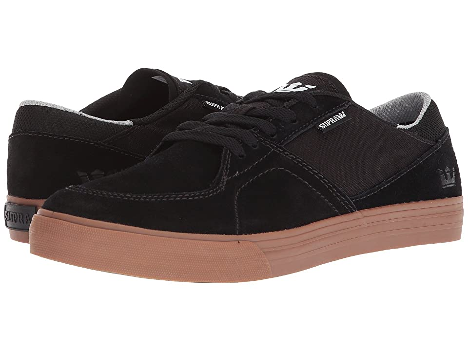 Supra Melrose (Black/Gum) Men