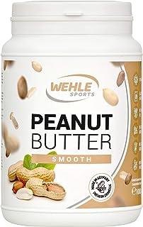Erdnussbutter Natürliche Peanutbutter Ohne Zusätze. Erdnussmus Ohne Salz, Zucker, Palmfett - Wehle Sports Smooth, 1 KG