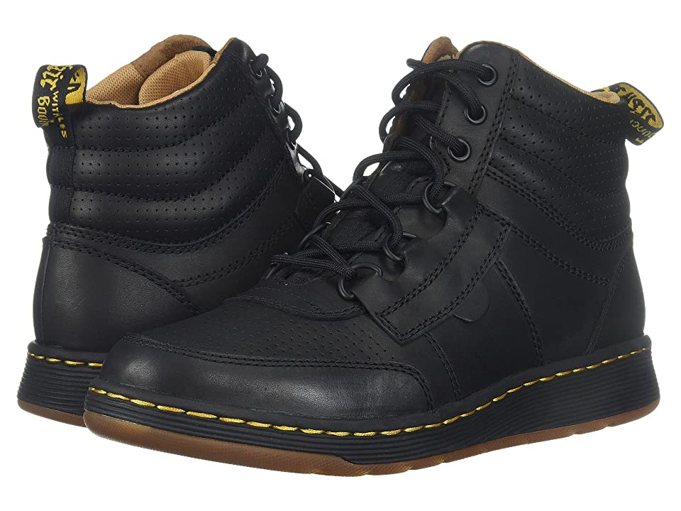 Dr. Martens Derry 6-Eye Chukka Boot (Black Temperley/Black Webbing) Men