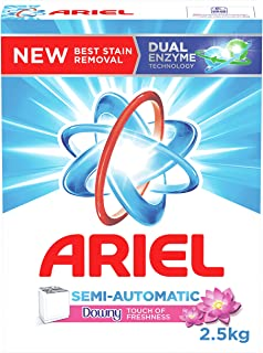 Ariel Powder Laundry Detergent, Touch of Freshness Downy, 2.5KG