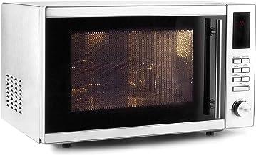 LACOR 69324-Horno microondas con Plato Giratorio + Grill, 25 L, 900 W