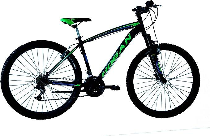 Mountain Bike Hogan 27,5 Unisex, Adulto con Forcella Ammortizzata