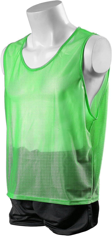 Kwik Goal Deluxe Scrimmage Hi-Vis Vest Green Max 56% OFF Adult Ranking TOP6