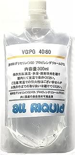 VEGETABLE GLYCERIN, PROPYLENE GLYCOL MIX/ Food Grade 13oz 300ml (VG:PG)(40:60) MADE IN JAPAN