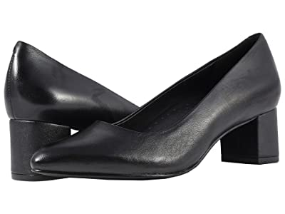 Trotters Kari (Black Soft Nappa Leather) Women