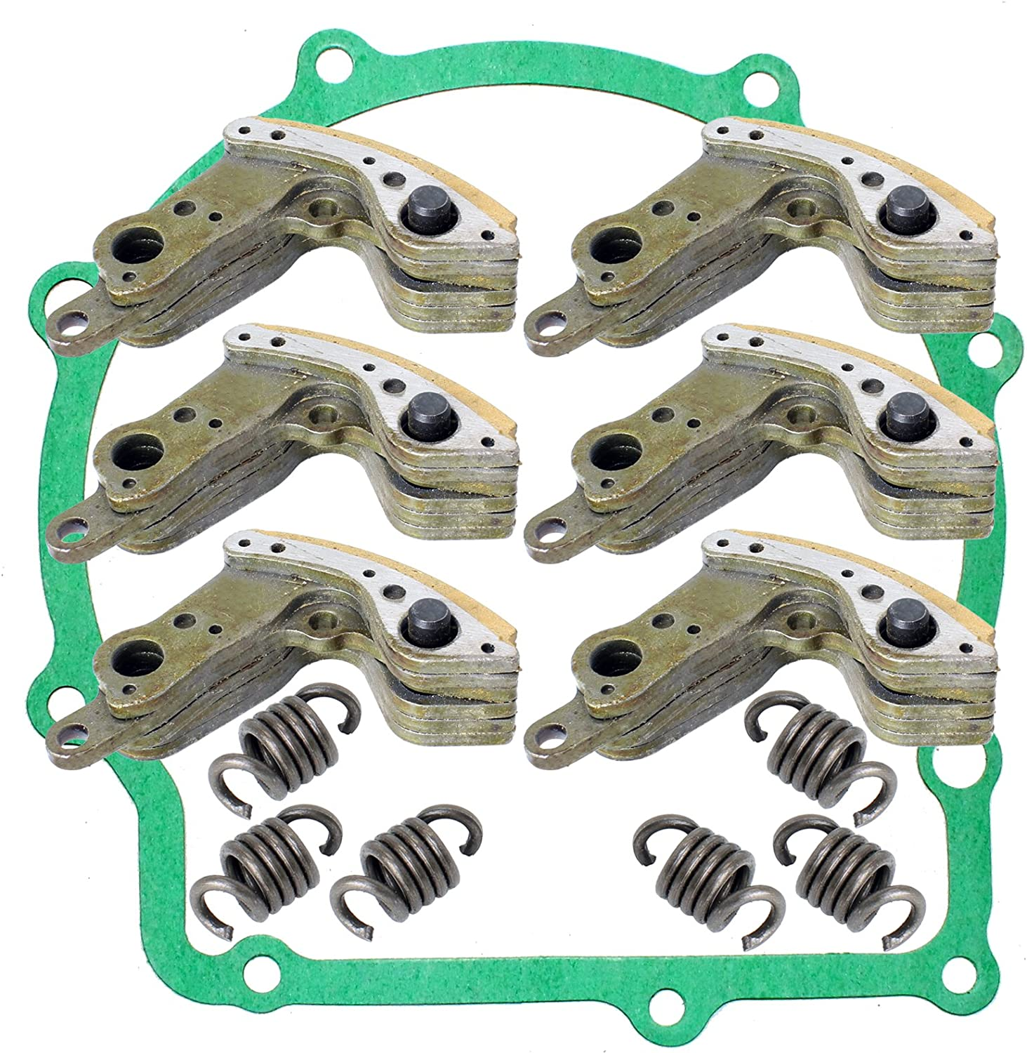 Caltric Wet Clutch Ranking TOP1 Washington Mall Shoes Gaskeet Yamaha with Compatible Viking