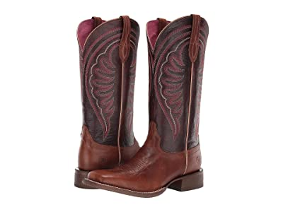 Ariat Circuit Shiloh (Nomad Brown/Madder Brown) Cowboy Boots