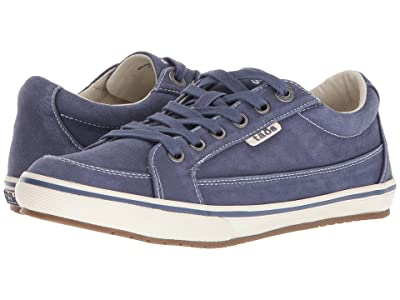 Taos Footwear Moc Star (Indigo Distressed) Women