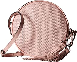 Twisted Woven Embossed Scafati Canteen Crossbody