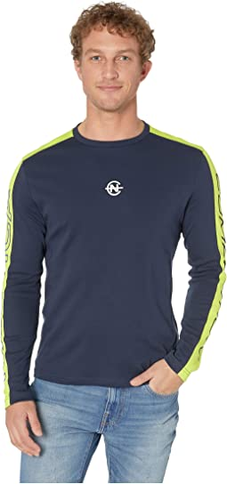 Long Sleeve Competition Tee w/ Shoulder Panel