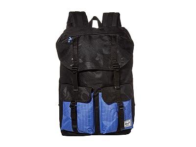 Herschel Supply Co. Buckingham (Black Tonal Camo/Amparo Blue) Backpack Bags