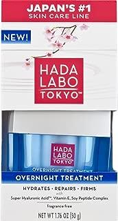Hada Labo Tokyo Overnight Treatment 1.76 Ounce (Packaging May Vary)