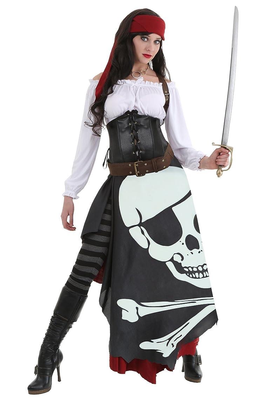 私たち自身摩擦残るfuncostumes Fun Costumes Womensレディース海賊旗ジプシーコスチューム