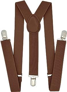 Kids Boys Suspenders - Adjustable Elastic Y Back and...