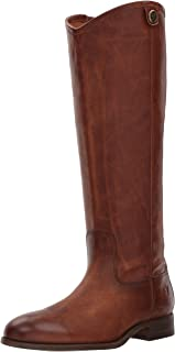 cognac riding boots narrow calf