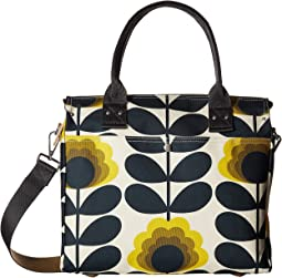 Orla Kiely - Summer Flower Stem Zip Messenger