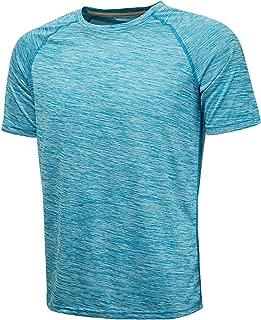 Komprexx Sport T-Shirts for Men - Quick Dry Wicking - Running Tops Training Tee Short Sleeve Sportswear