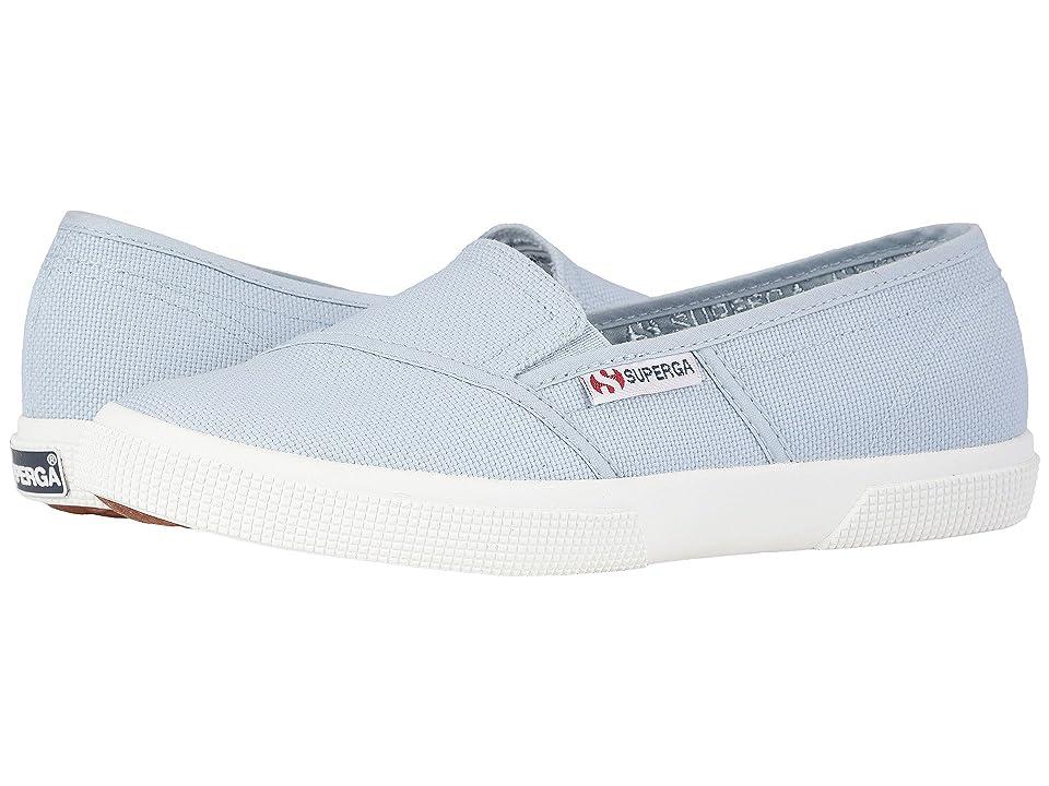 Superga 2210 COTW Slip-On Sneaker (Dusty Blue) Women