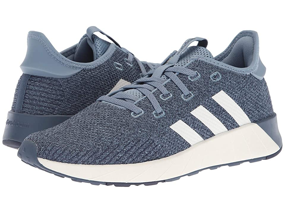 adidas Questar X BYD (Raw Grey/Cloud White/Tech Ink) Women's Running Shoes, Blue