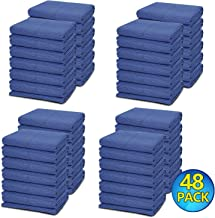 48 Moving Packing Blankets - 80 x 72 Inches (35 lb/dz) Heavy Duty Moving Pads for Protecting Furniture Professional Quilte...