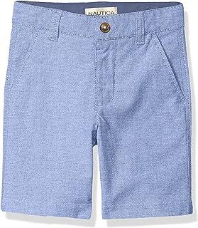 Nautica Boys' Light Wash Oxford Shorts