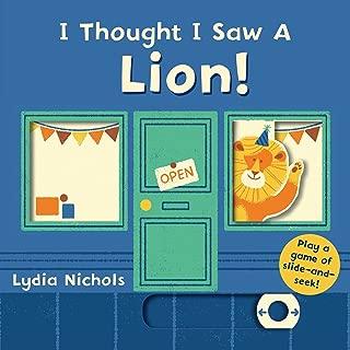 quiet book lion