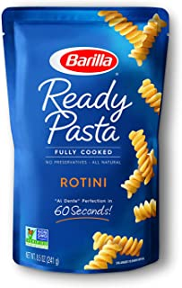 Barilla Ready Pasta, Rotini Pasta, 8.5 Ounces (Pack of 6)