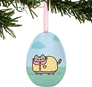 Department 56 Pusheen Rainy Day Easter Egg Hanging 2.2