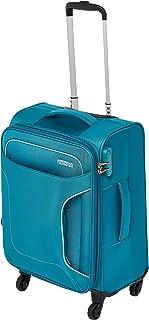 حقيبة سفر صغيرة للأمتعة من أميريكان توريستر للأمتعة الصغيرة، لون أزرق مخضر، تدور 55 سم