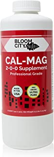 Bloom City Professional Grade Ultra Pure Cal-Mag Growing Supplement Quart (32 oz)