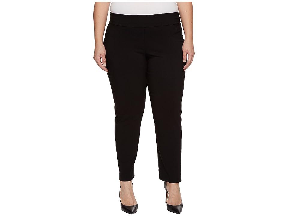 Krazy Larry - Krazy Larry Plus Size Pull-On Ankle Pants