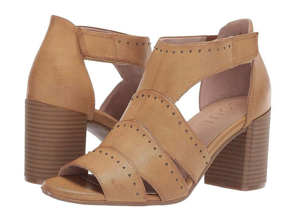 SOUL Naturalizer Christina (Latte Smooth) High Heels