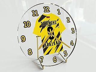 MyShirt123 Bundesliga Fu&szligball-Uhr&nbspim Trikot-Design &ndash&nbsppersonalisierbar B. Dortmund