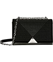 Emporio Armani - Velvet Piping Shoulder Bag
