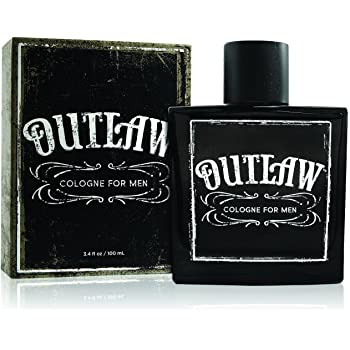 Outlaw Cologne - Authentic Fragrance Spray for Men with a Fusion of Refreshing Bergamot, Lavender and Fir Balsam for a Sensual Aroma - 3.4 oz 100 ml