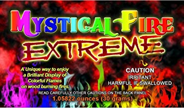 Extreme Mystical Fire, Colorful Flames (12-Pack)